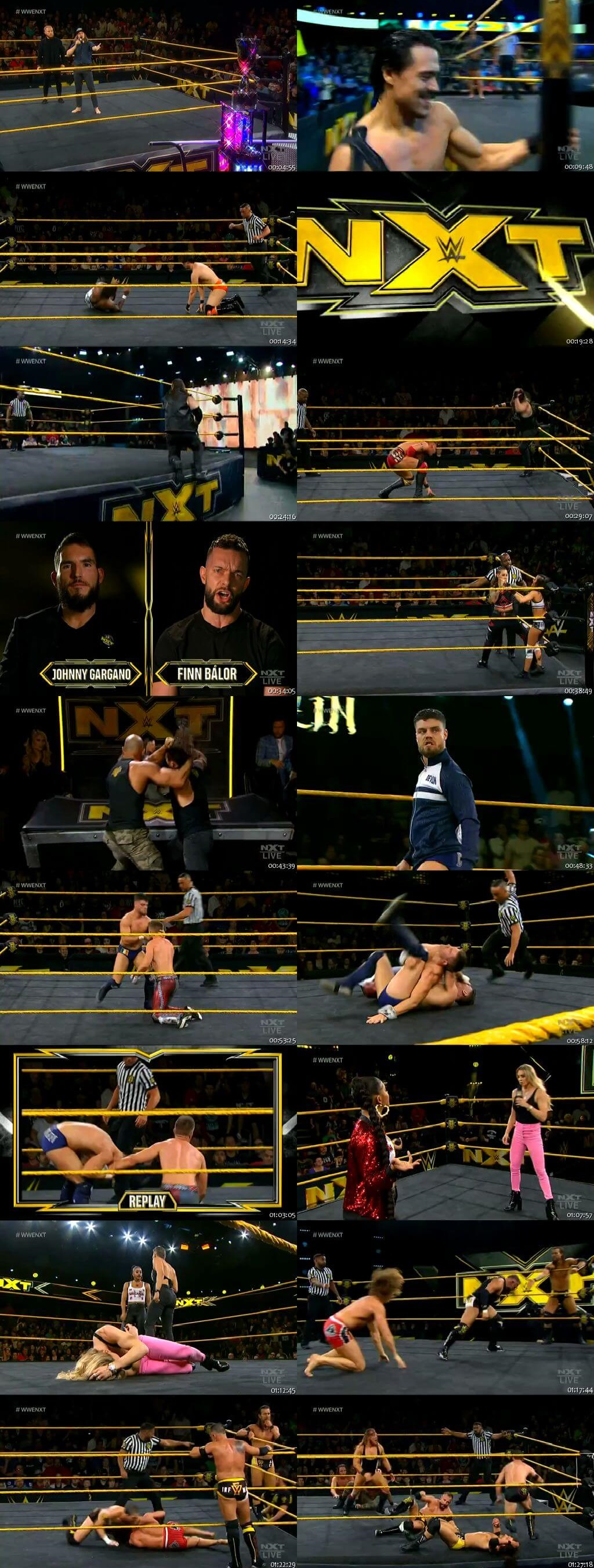 Screen Shot Of WWE NXT 5th February 2020 HDTV 480P 300MB