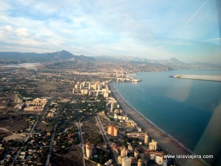 Vista aérea de la Costa del Campello