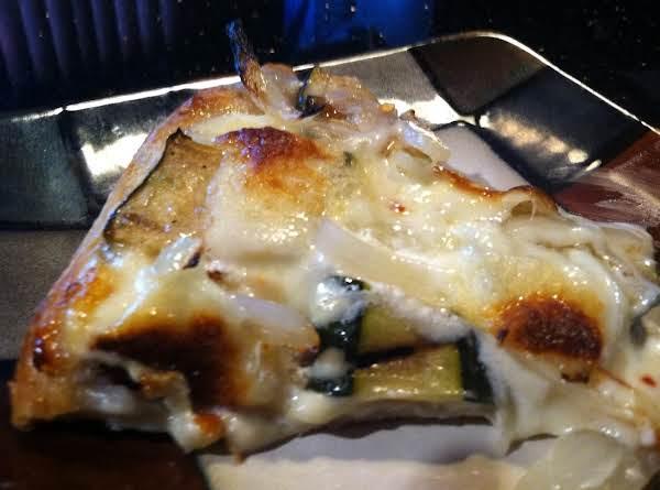 Grilled Zucchini Ricotta Pie Recipe
