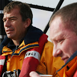 Deputy Second Coxswain Stuart Newcombe and Crew Member Andy Salmon