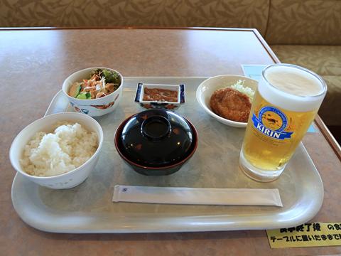 新日本海フェリー「らいらっく」 レストラン 昼食