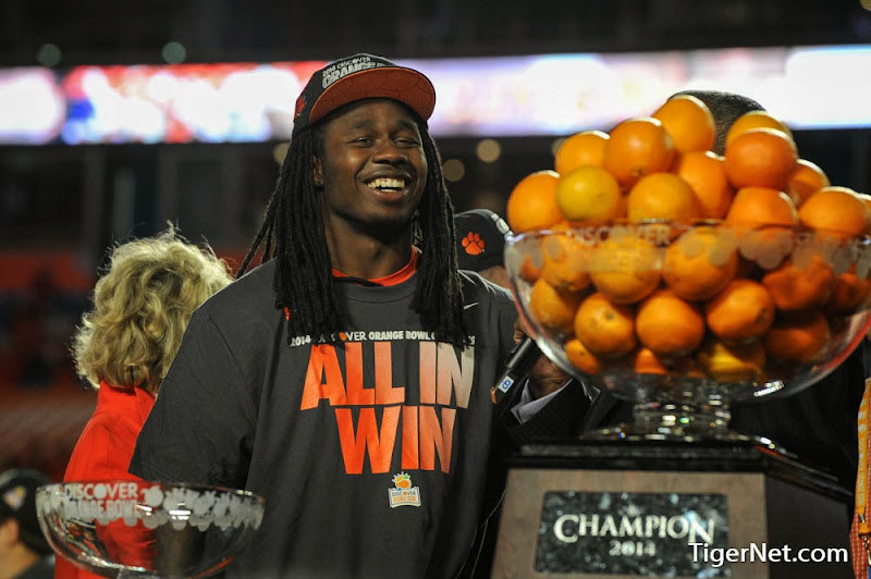 Orange Bowl - Interception and Celebration Photos - 2014, Bowl Game, Football, Sammy Watkins