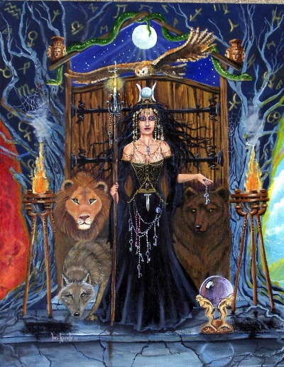 Greek Goddess Hecate, Gods And Goddesses 1