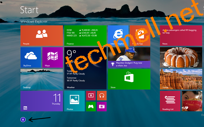 Start Metro in Windows 8.1
