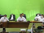 Bupati Ciamis Sosialisasikan Perpanjangan PPKM Level 4 Secara Virtual