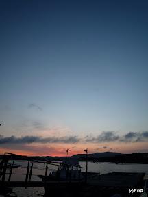 2009/6/28の夕景です。この日の夕闇は長かったです。