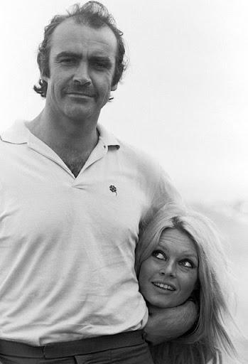 Como han cambiado: Sean Connery y Brigitte Bardot