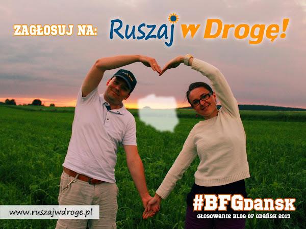 Blog of Gdansk - głosuj na Ruszaj w Drogę blogforum