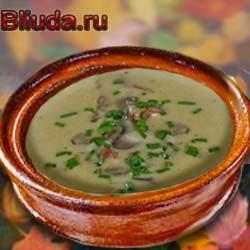 Крем-суп из фасоли. Рецепт.