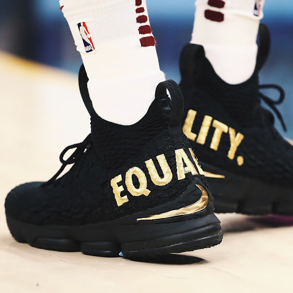 Nike and King James Launch Equality LeBron 15 PEs via 10 Draw