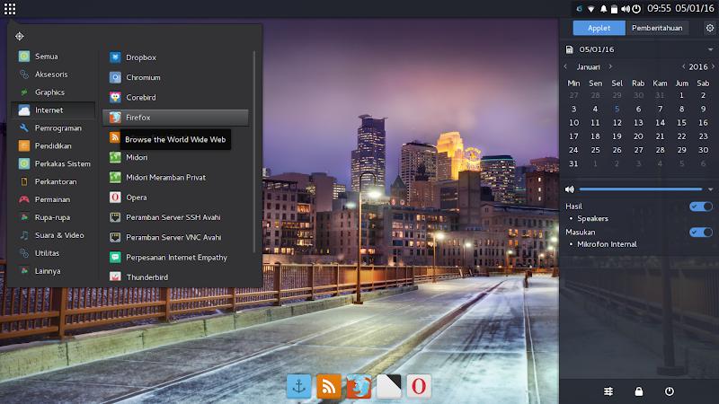Budgie Desktop Antergos