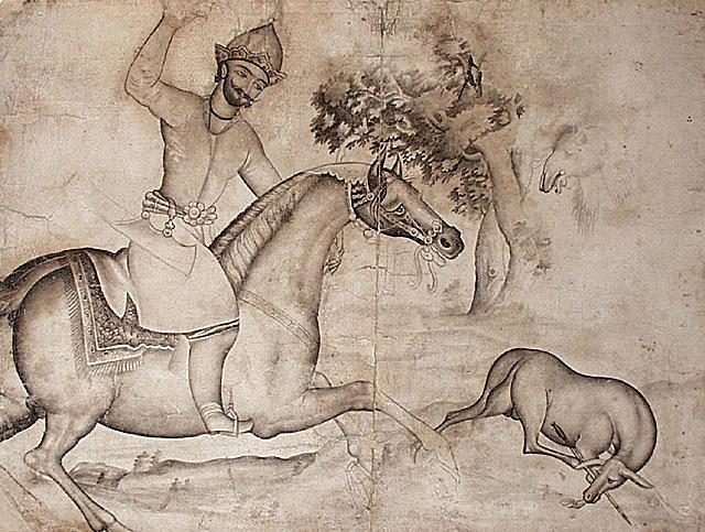 Bahram Gur's Master Shot, Iran, 1825-1850