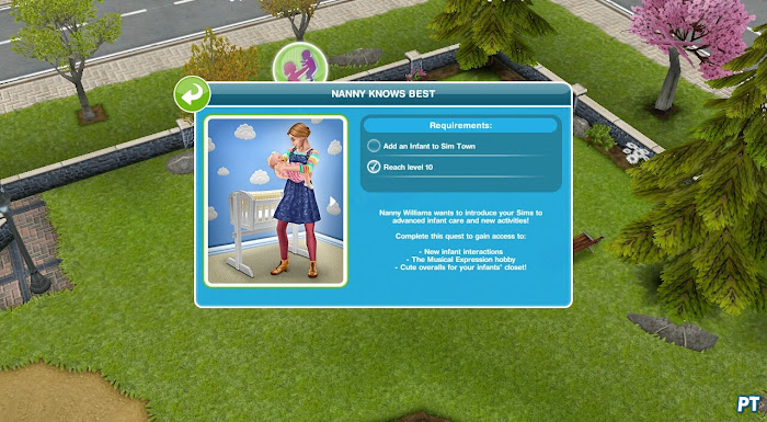 Nanny Knows Best - Sims FreePlay