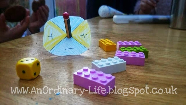 An Ordinary Life : Lego Towers! Math game