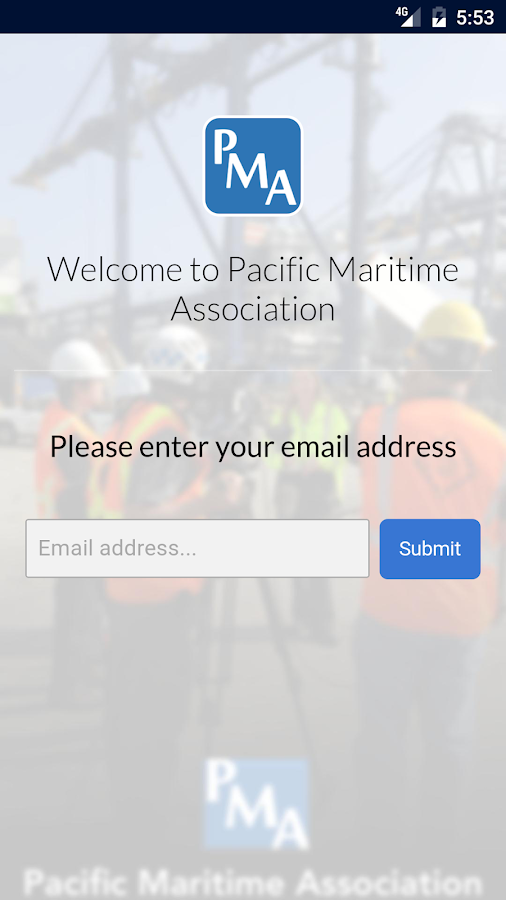 Pacific Maritime Association- screenshot
