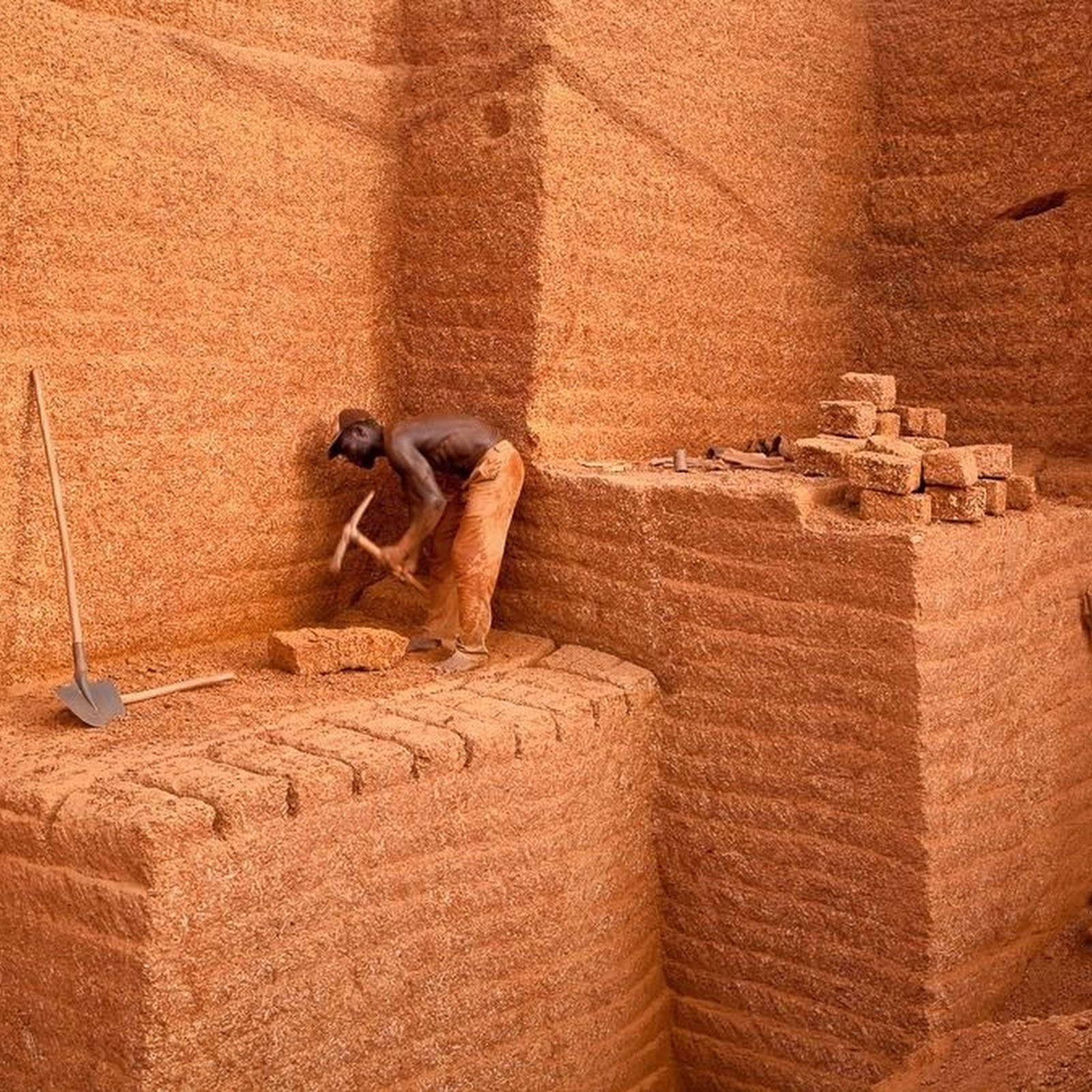 Karaba Brick Quarry of Burkina Faso
