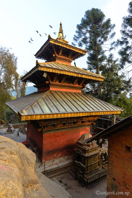 Short Trip To Sankhu Sali Nadi And The Temple Of