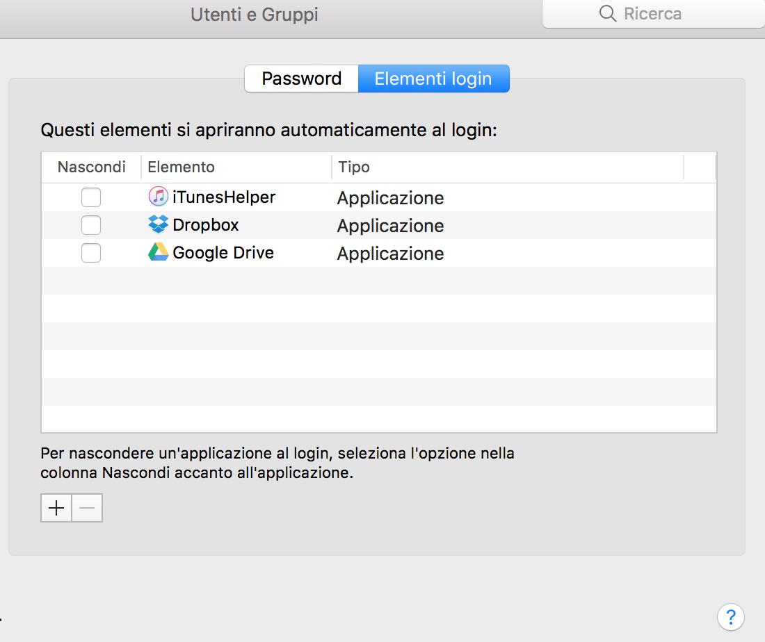 Bloccare apertura google chrome al login macbook forum - Bloccare apertura finestre chrome ...
