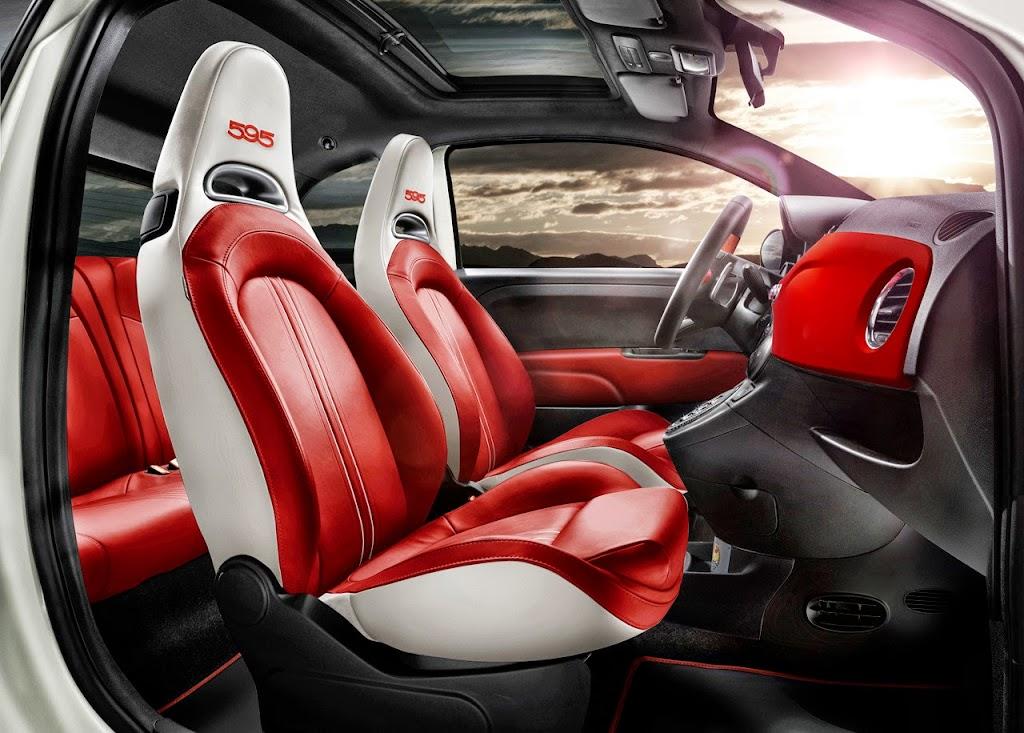Fiat Abarth 595 50th Anniversary Edition Interior 2