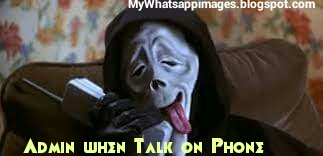 Admin When Taking on Phone