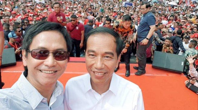 Ngaku Belajar Akhlak dari Jokowi, Addie MS: Aku Bersamamu
