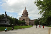 Capitol Building - a popular tourist attraction in Austin