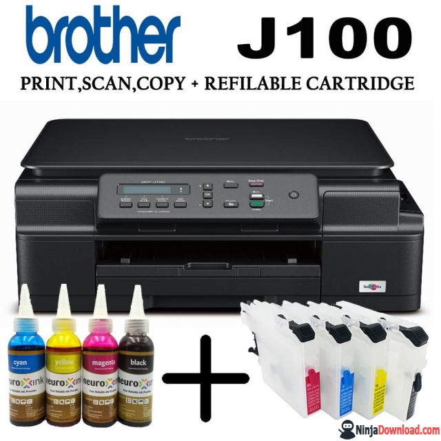 Download Brother DCP-J100 Printer Driver Free