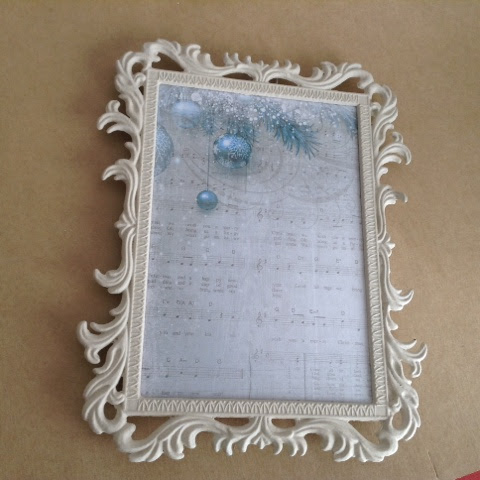 "Altered frame ""Silver Bells"""