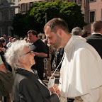 Priesterweihe D. Johannes Hohenwarter OPraem und Siegmund Bichler - Agape am Domplatz - 28.06.2015