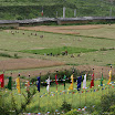 Harvesting in Bursi Tsum.