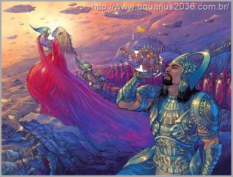 A batalha deuses Anunnaki no Mohenjo-Daro