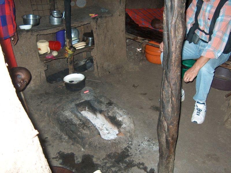 Maasai Köy Evi
