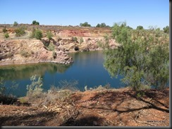 180317 088 Cobar Slag Dump and  Great Cobar  Copper Mine