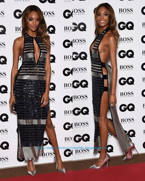 Jourdan Dunn attends the GQ Men Of The Year Awards3