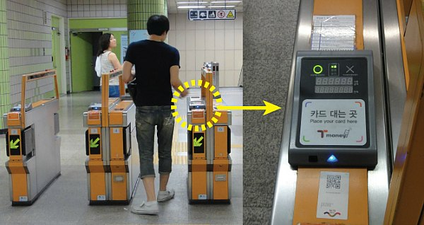 Gate Subway di Korea Selatan