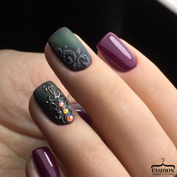 Latest Matte Nail Designs You Will Love 7