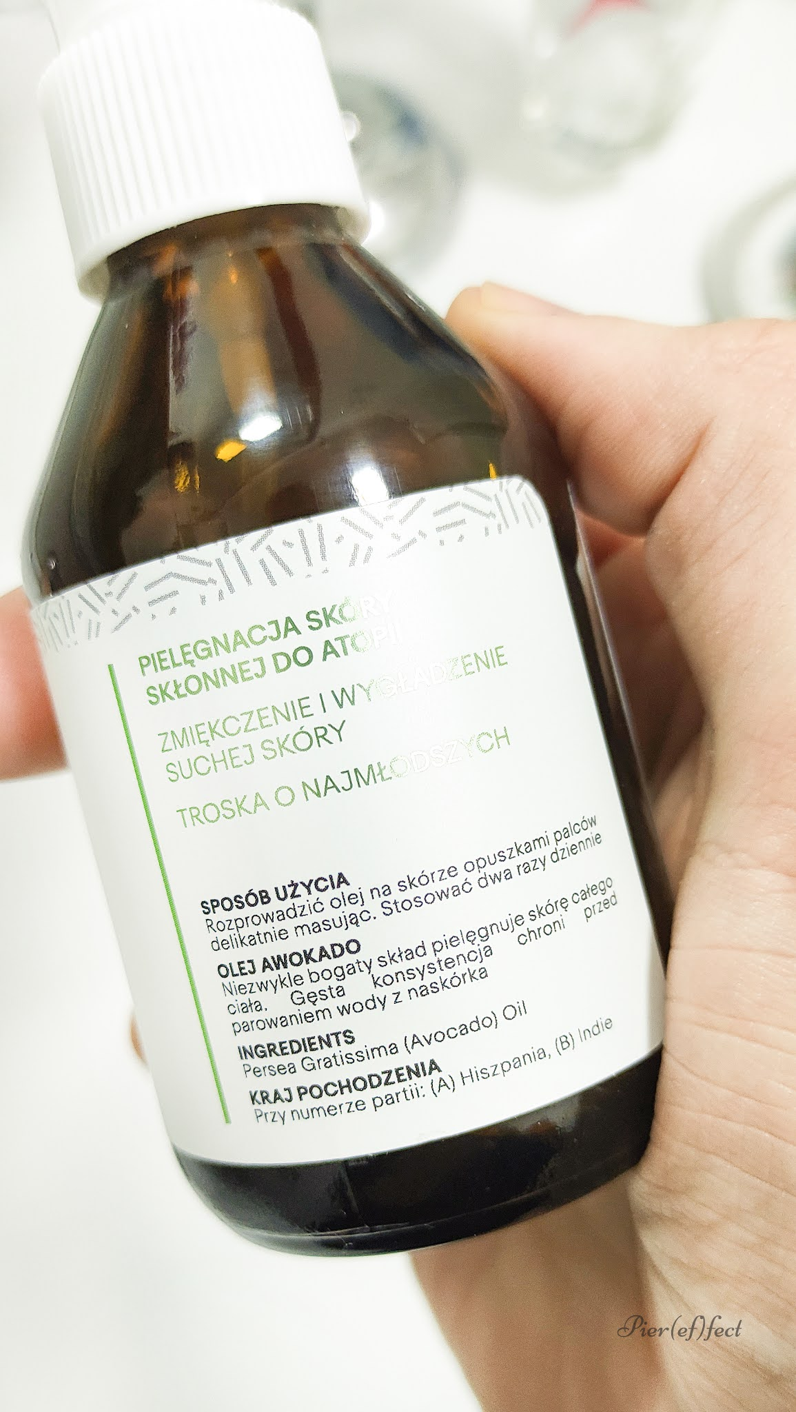 olio di avocado puro