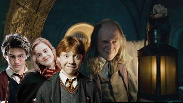 Em 2 de setembro de 1991 Harry e Rony ficam encrencados com Argus Filch