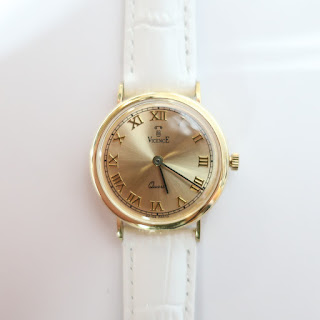 Vicence 14K Gold Ladies Watch