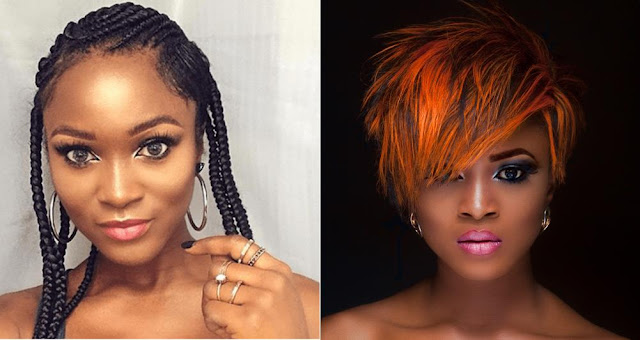 """""""It's Bigger Than Your Di*k""""- Eva Alordiah Comes For Fan, who Says Her Forehead Is Big"""