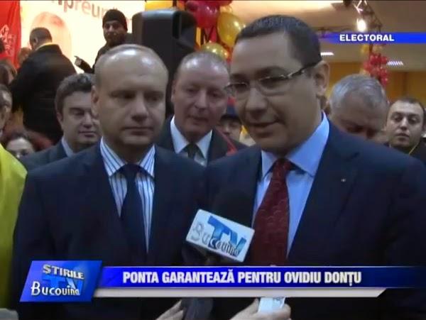 Coruptul Ovidiu Donțu, garantat de Victor Ponta