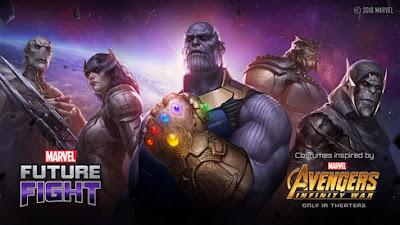 Melalui peluncuran teatrikal dari Marvel Studios Update Terbaru Marvel Future Fight Bawa Tema Infinity War