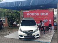Pameran Mobil Honda Di Swalayan Ramai Manyaran