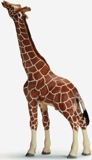 Mô hình Hươu cao cổ đang ăn Giraffe eating Schleich 14389 sinh động đẹp mắt