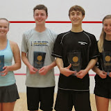 2014 State Siblings Doubles: Finalists - Becky & Timmy Brownell; Champions - Carson & Caroline Spahr