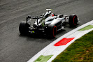 Kevin Magnussen cornering his McLaren MP4-29
