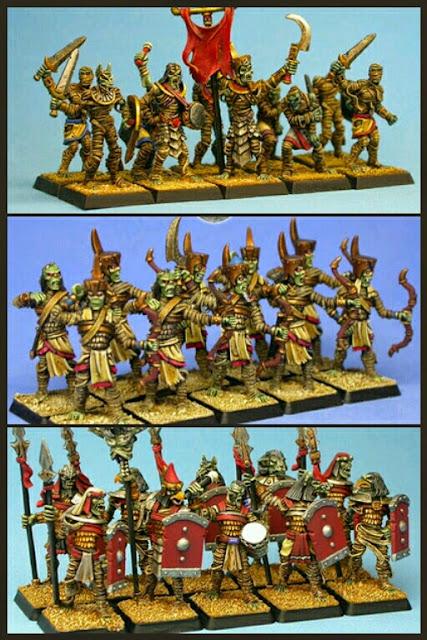 tropas undeads de WarGods