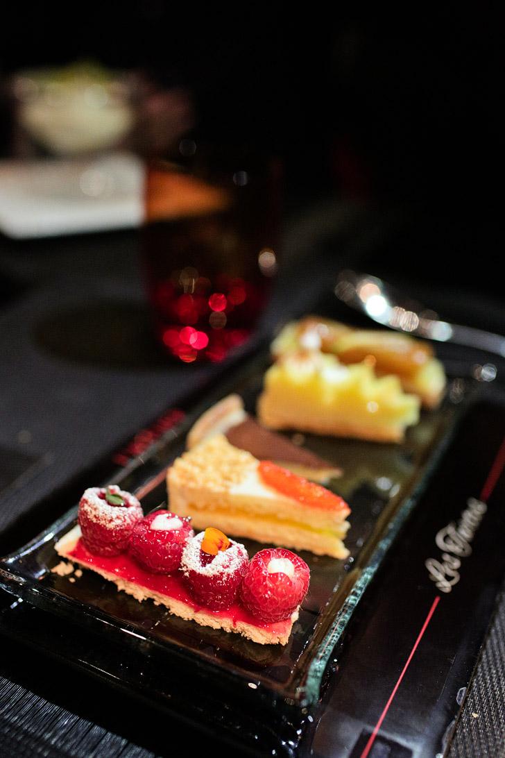 Le Tartes - L'Atelier Menu - MGM Restaurants.