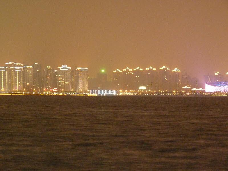 Suzhou.Un immense lac artificiel creusé il y a une dizaine d'années