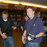 I think Alex and Joe would be better with an air guitar! Poole Yacht Club Games Night - 10 December 2013